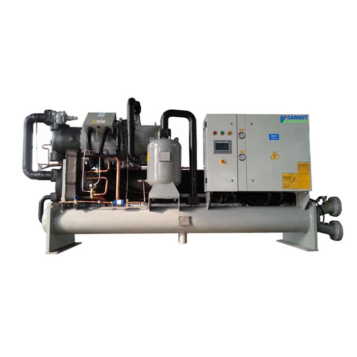 青岛螺杆冷水机,国内低温冷水机组品牌,低温冷冻螺杆冷水机组-25℃~-30℃