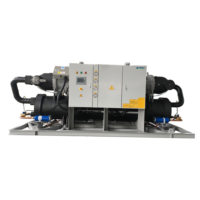 高精度工业冷水机组的制作,低温冷水机组-双机
