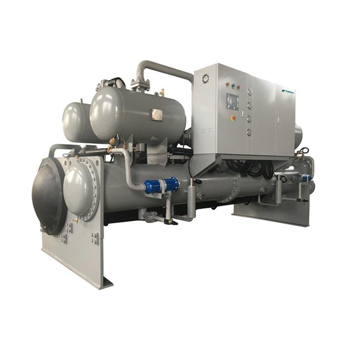 杭州工业用冷水机,成都冷冻设备,水冷螺杆式冷水机组-单机