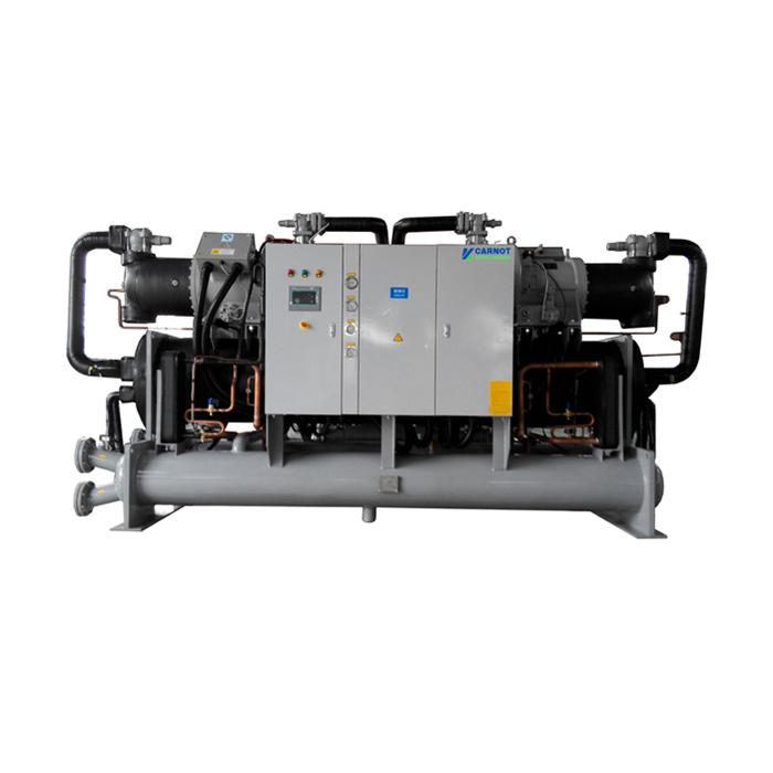 镇江低温工业冷水机,镇江激光冷水机,水冷螺杆式冷水机组-双机