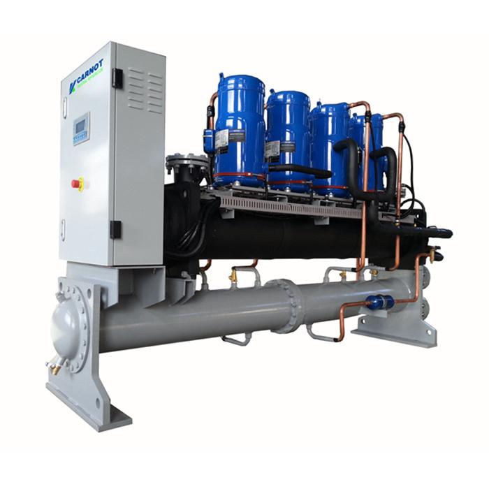 淄博工业冷水机,涡旋式水源热泵机组