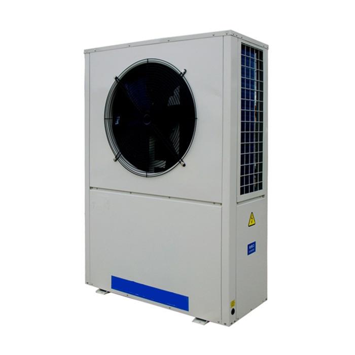 高精度工业冷水机组的制作,轻商用风冷冷热水机组(侧出风)