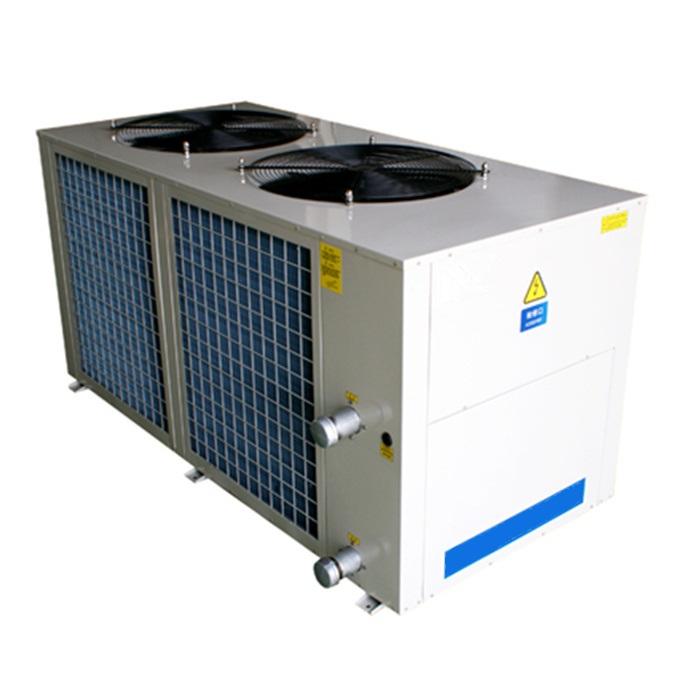 徐州工业冷水机,轻商用风冷冷热水机组(顶出风)